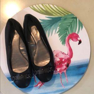 COACH - Black Bianca Ballet Flat -Sz 6.5